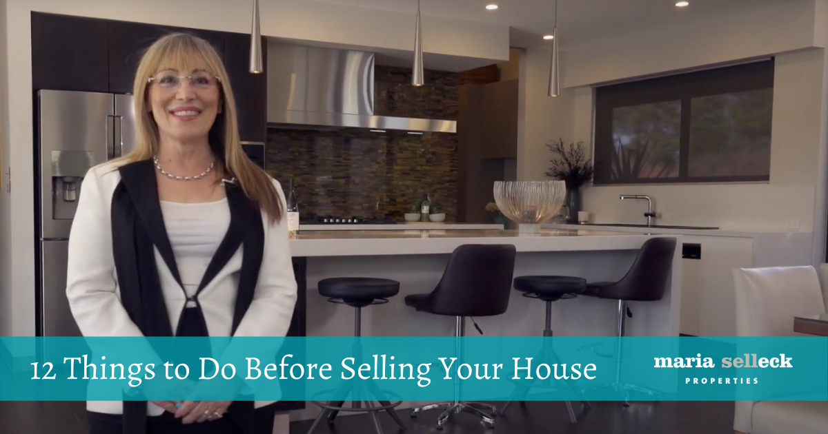 12 THINGS TO DO BEFORE SELLING YOUR HOUSE