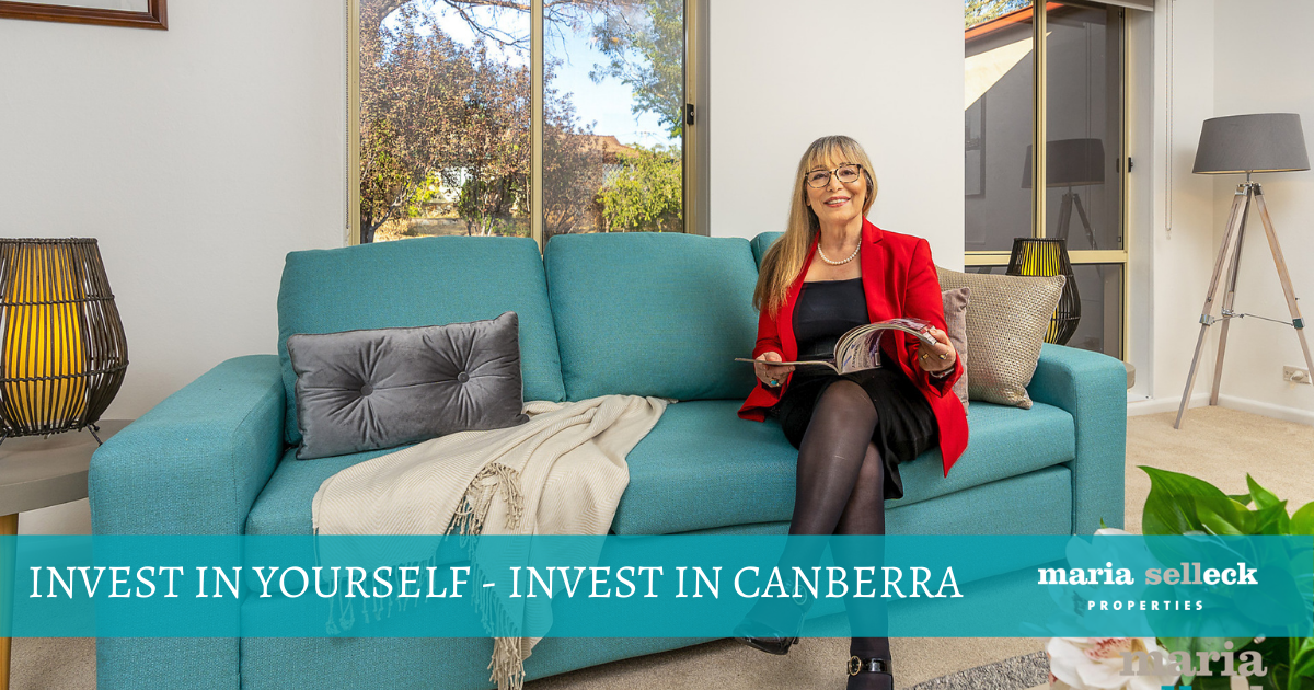 INVEST IN YOURSELF – INVEST IN CANBERRA