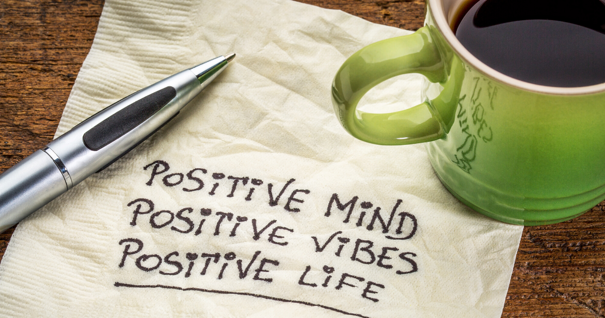 HOW TO STAY POSITIVE AND SANE IN TOUGH AND CRAZY TIMES